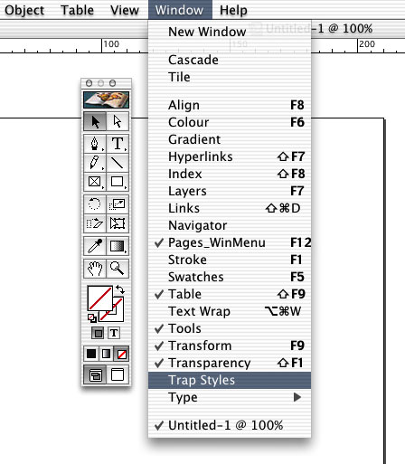 style contour indesign